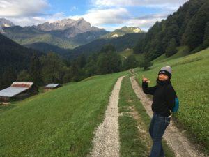 Alps Mount background