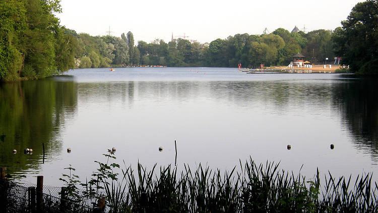 plötzensee - salah satu danau di berlin