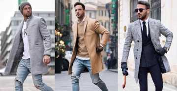 gaya pakaian pria saat musim dingin