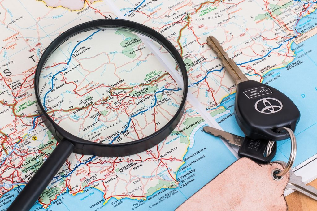 map, vacation, travel